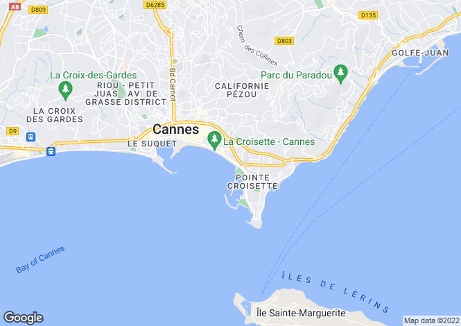 Map for Provence-Alps-Cote d`Azur, Alpes-Maritimes, Cannes