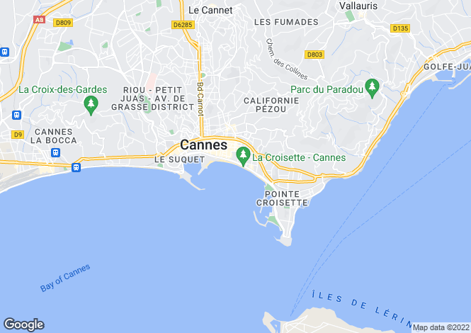 Map for Cannes, Alpes-Maritimes, Provence-Alps-Cote d`Azur