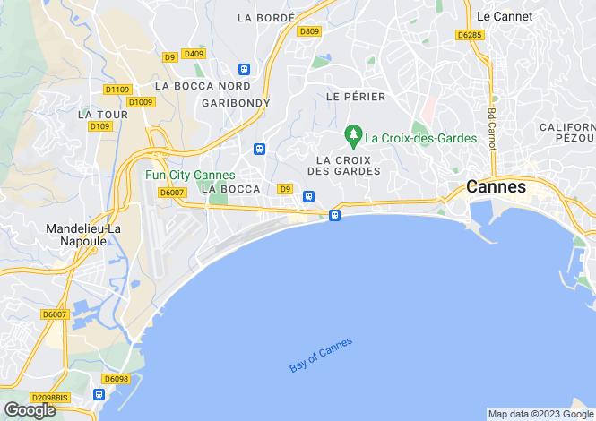 Map for Mandelieu-La-Napoule, Provence-Alpes-Cote dAzur, France
