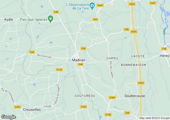 Map for Madiran, Hautes-Pyrénées, Midi-Pyrénées