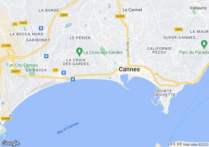 Map for Cannes Plages Du Midi, Provence-Alpes-Cote dAzur, France