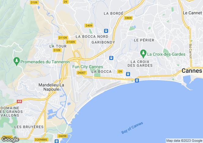 Map for Cannes-La-Bocca, Alpes-Maritimes, 06150, France