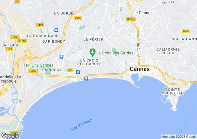 Map for Cannes-La-Bocca, Provence-Alpes-Cote dAzur, France