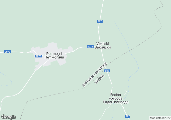 Map for Nikola-Kozlevo, Shumen