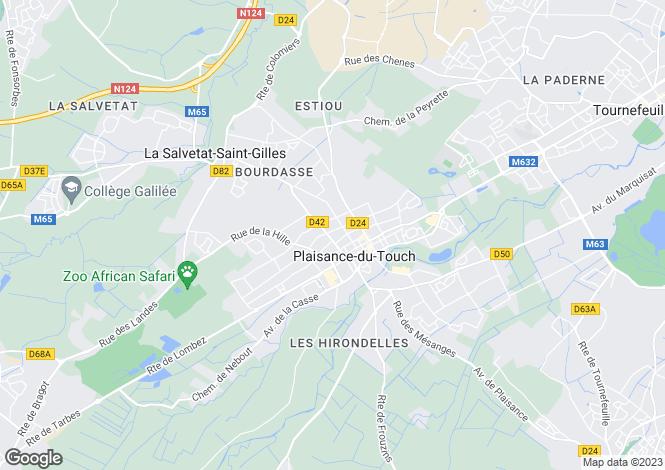 Map for Cazaux-Savès, Gers, Midi-Pyrénées