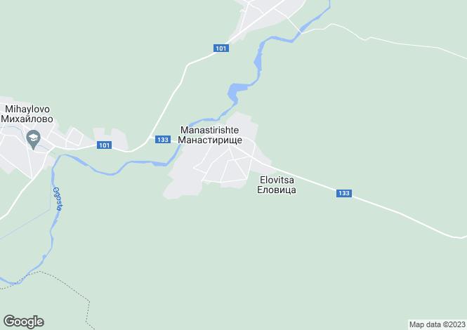 Map for Vratsa, Vratsa