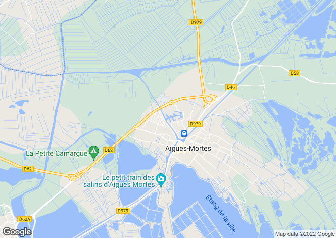 Map for Aigues-Mortes - Marina Corail (3 beds)
