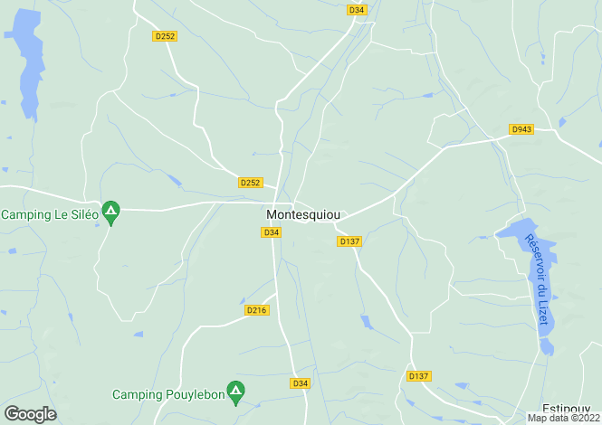 Map for Marciac, Midi-Pyrenees, 32230, France