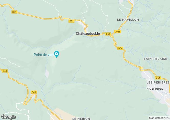 Map for gorges-du-verdon, Var, France