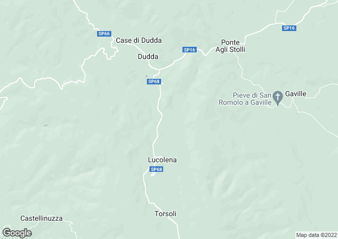 Map for Tuscany, Florence, Greve in Chianti