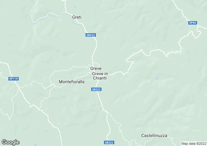 Map for Greve, Florence, Tuscany