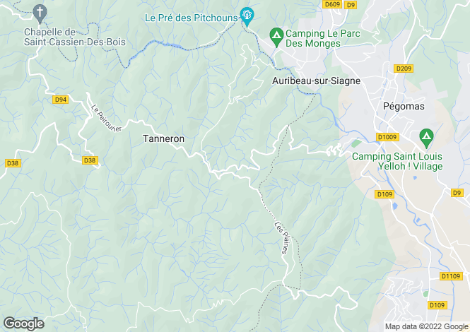 Map for Montauroux, Provence-Alpes-Cote dAzur, France
