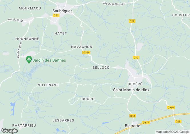 Map for Secteur: Puyoo, Landes