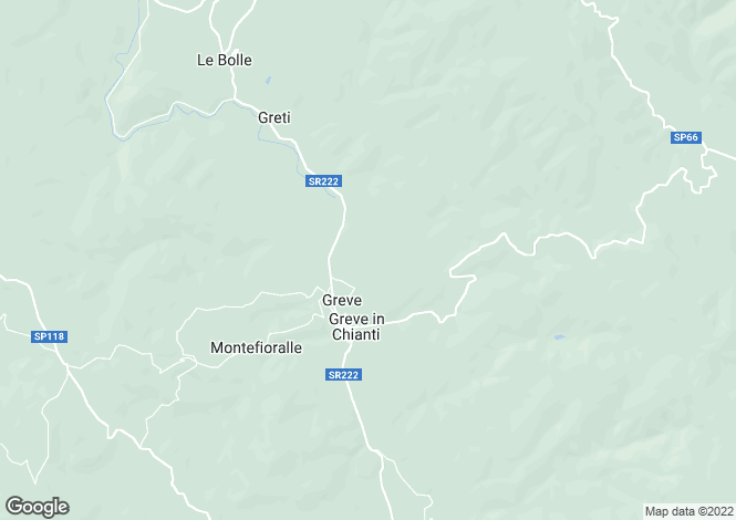 Map for Villa Lucolena, Greve In Chianti, Tuscany, Italy