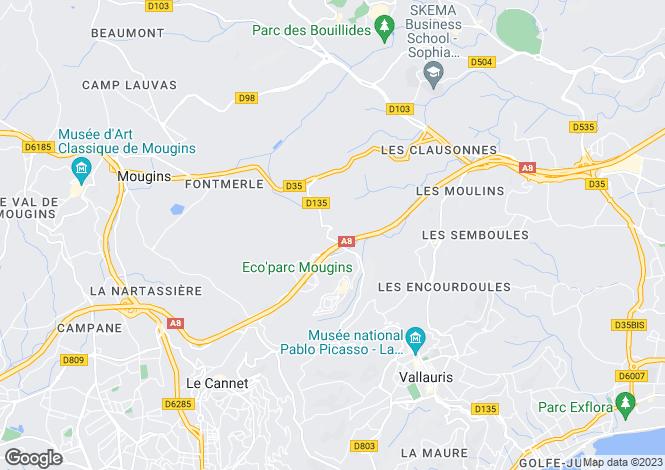 Map for Biot, Provence-Alpes-Cote dAzur, France