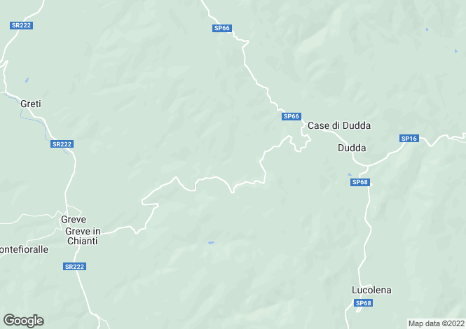 Map for Podere Tre Case, Greve In Chianti, Tuscany, Italy