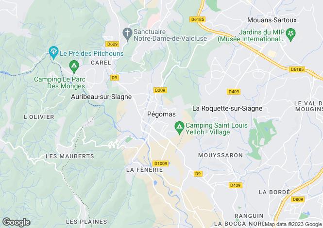 Map for Pegomas, Alpes-Maritimes, 06580, France