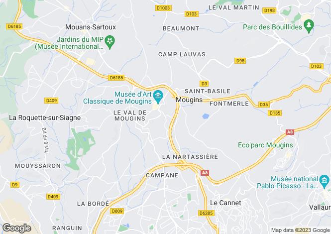 Map for Grasse Plascassier, Provence-Alpes-Cote dAzur, France