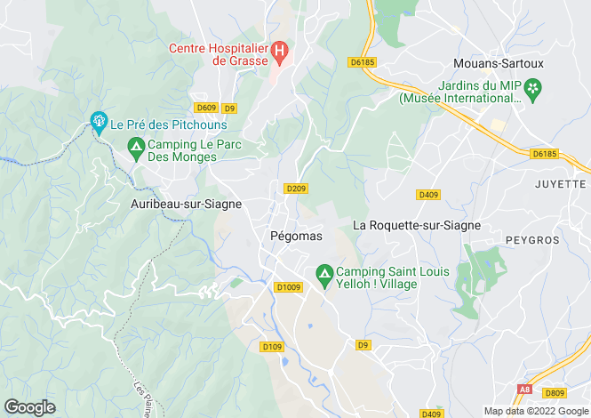 Map for PEGOMAS,Provence-Alpes-Côte d'Azur, France