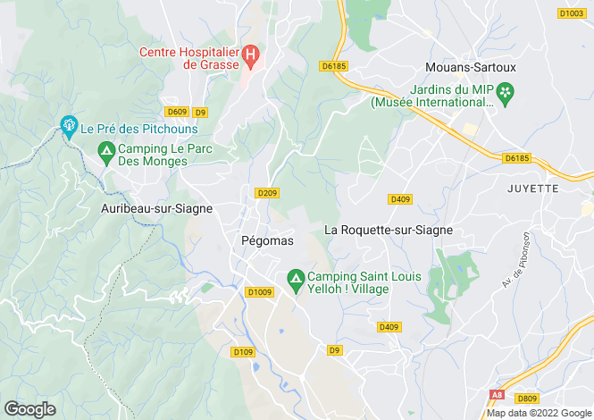 Map for Speracedes, France