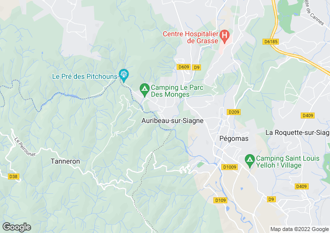 Map for Saint-Cezaire-Sur-Siagne, Provence-Alpes-Cote dAzur, France