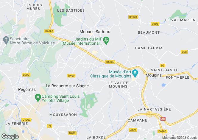 Map for Grasse Saint-Mathieu, Provence-Alpes-Cote dAzur, France