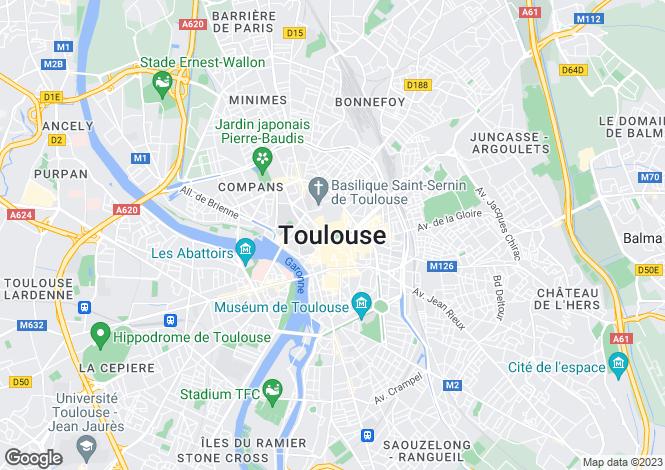 Map for Secteur: Toulouse Ouest, Haute-Garonne