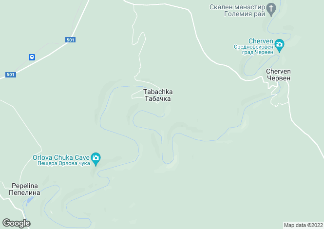 Map for Cherven, Ruse