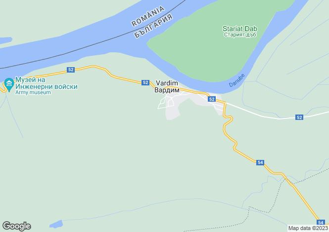 Map for Vardim, Veliko Tarnovo