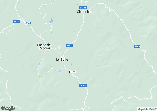 Map for Podere le Carceri, Greti, Tuscany, Italy