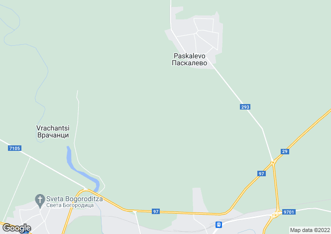 Map for Paskalevo, Dobrich