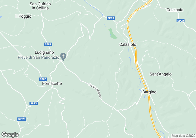 Map for Tuscany, Florence, San Casciano Val di Pesa