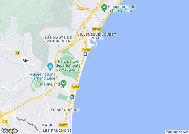 Map for Nice Promenade Des Anglais, Provence-Alpes-Cote dAzur, France