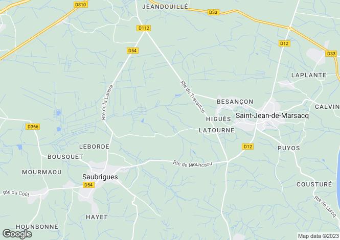 Map for Saint-Jean-de-Marsacq, Landes, 40230, France
