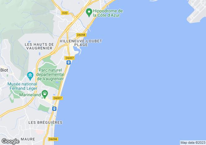 Map for Nice Le Port, Provence-Alpes-Cote dAzur, France