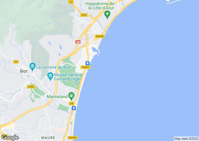 Map for Nice Carre Dor, France