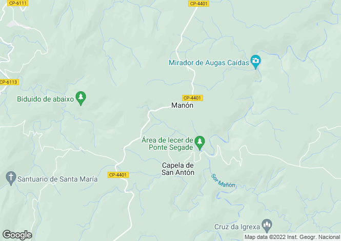 Map for Ortigueira, A Coruña, Galicia