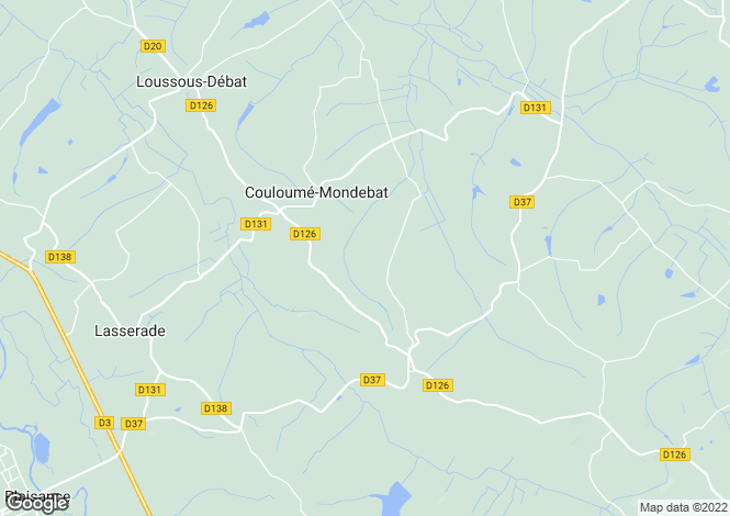 Map for couloume-mondebat, Gers, France