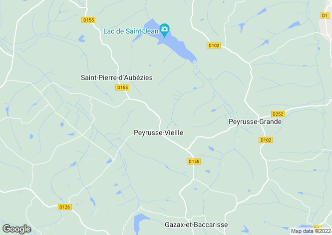 Map for peyrusse-vieille, Gers, France