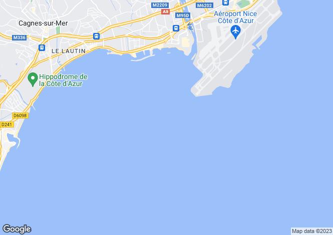 Map for Èze, France