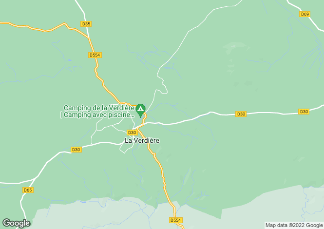 Map for la-verdiere, Var, France