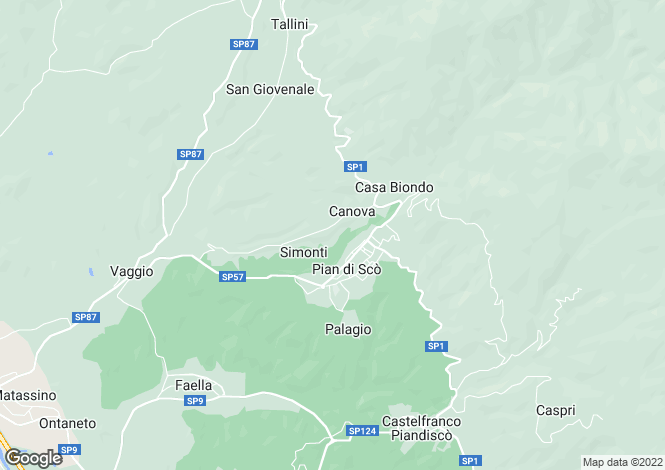 Map for Arezzo, Arezzo, Italy