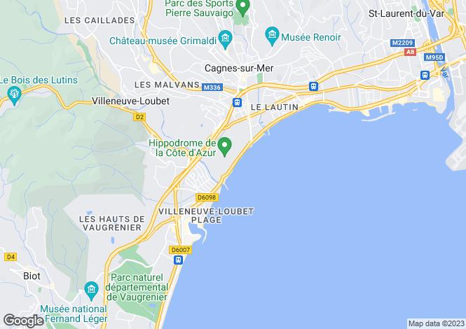 Map for Nice Rimiez, Provence-Alpes-Cote dAzur, France