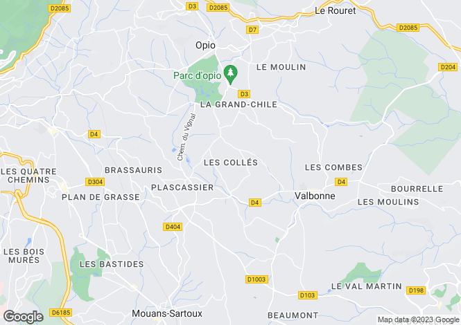 Map for Mougins, Alpes-Maritimes, 06250, France