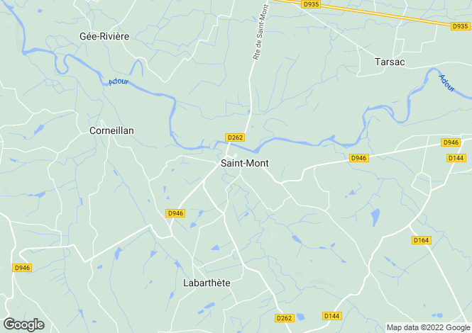 Map for Saint-Mont, Midi-Pyrenees, 32400, France