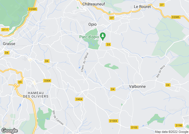 Map for Plascassier, 06130, France