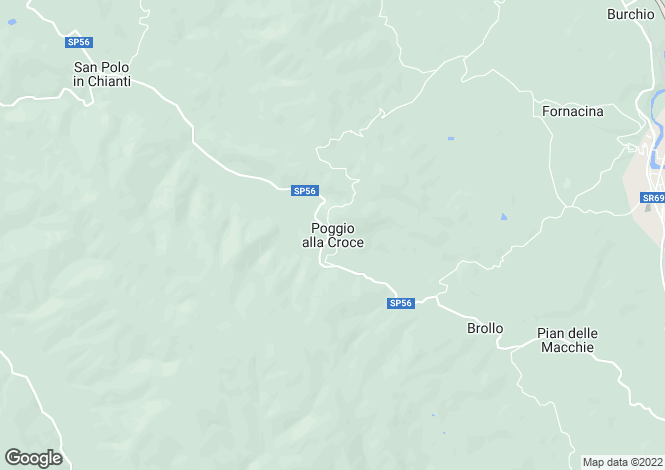 Map for Italy - Tuscany, Florence, Greve in Chianti