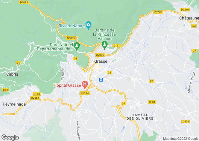 Map for Grasse (Saint-Jacques), 06130, France