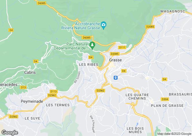 Map for Grasse, 06130, France