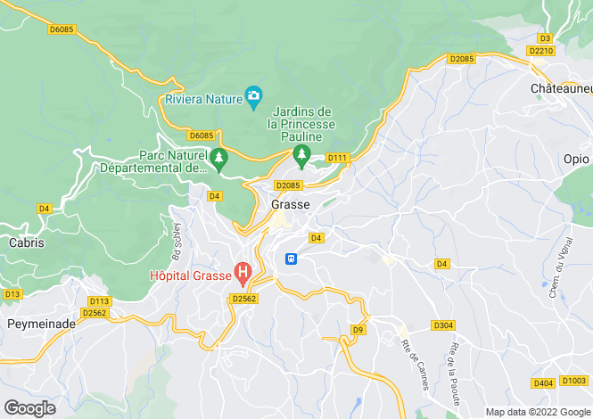 Map for Country House, Grasse